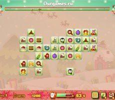 Kerstmis Mahjong