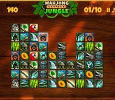 Mahjong Jungle