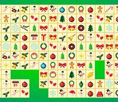 Nieuw jaars mahjong