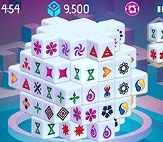 Mahjong 3d Dimensions Arkadium